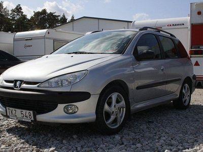 begagnad Peugeot 206 SW 1,6 (109Hk)