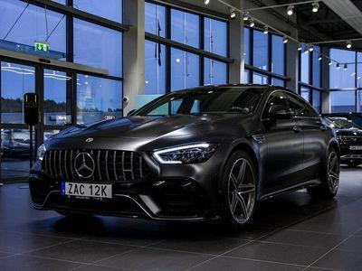 begagnad Mercedes AMG GT 53 Coupé 4M+ 4MATIC+ 435hk Designo Matt Nyservad