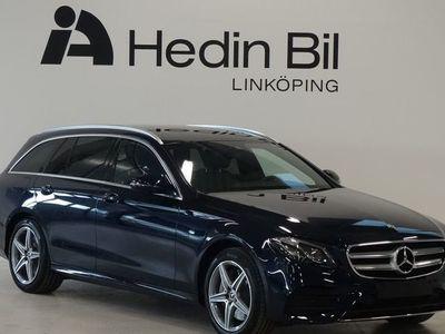 begagnad Mercedes E300 AMG Navigation Comand Online Minnespaket Backkamera DEMO