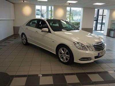 begagnad Mercedes E250 E 250 CDI // Vinterhjul // Panorama
