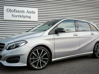 begagnad Mercedes B180 B BenzProgressive Nightpackage Navi 2018, Halvkombi 219 900 kr