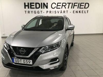 begagnad Nissan Qashqai 1.2 DIG - T Manuell, 115hk, 2017
