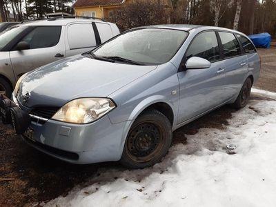 begagnad Nissan Primera kombi lågmil.