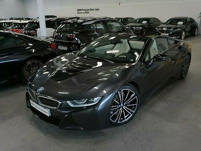 begagnad BMW i8 Roadster 374hk H&K Navi Head Up Laser