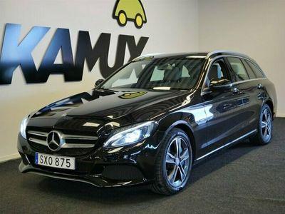 begagnad Mercedes C350 T e 350e | Skinn | Pano | Burmester | 279hk