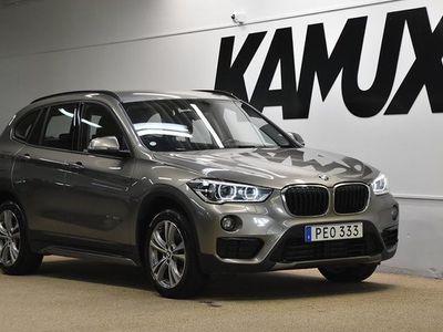 begagnad BMW X1 xDrive20d | Sport Line | Drag | | S&V | 2017, SUV 198 900 kr