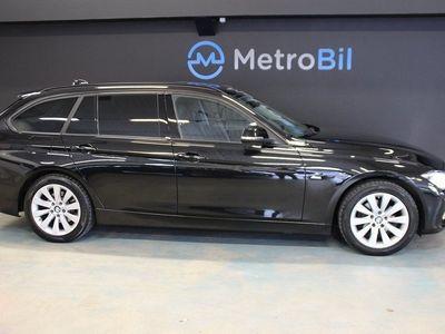 begagnad BMW 318 d Automat Sport line Euro 6 150hk -16