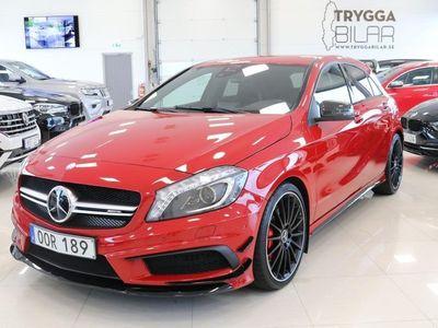 begagnad Mercedes A45 AMG A Benz4MATIC Miltek system Euro 6 2014, Halvkombi 339 900 kr