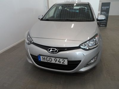 begagnad Hyundai i20 5-dörrar 1.2 Premium 86hk