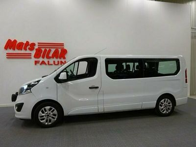 begagnad Opel Vivaro Kombi Combi 1,6 Cdti Biturbo 145hk 9-Sits