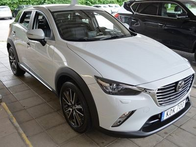 begagnad Mazda CX-3 2,0L 120hk Bensin Man Nav HUD Keyl -15
