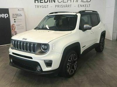 begagnad Jeep Renegade LIMITED 180HK AWD Panorama Skinn Serviceavtal 5900 kr Låg Skatt