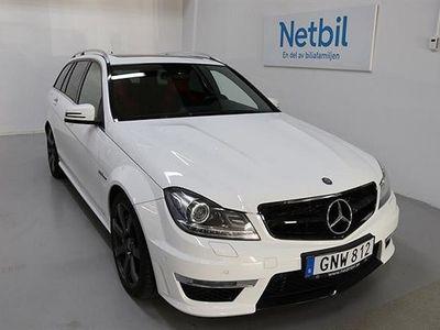 begagnad Mercedes C63 AMG 63 AMG S204 457hk