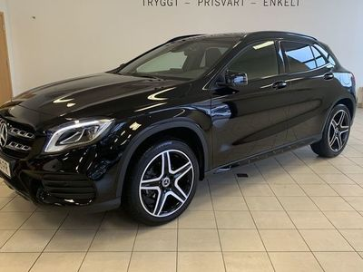 begagnad Mercedes GLA200 AMG, Panorama, Nightpackage, Navi, Backkamera
