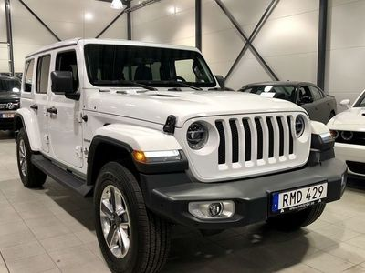 begagnad Jeep Wrangler Unlimited 2.0T 4WD AUT 272hk Sahara