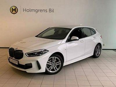 begagnad BMW 118 i 5d. M Sport Automat HiFi Rattvärme Aktiv Farthållare