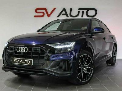 begagnad Audi Q8 50 TDI quattro S-Line B&O Matrix Panorama 286hk