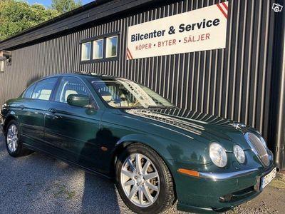 begagnad Jaguar S-Type V8 Auto*Helskinn*Svensksåld*El-Stol