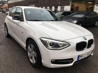 begagnad BMW 118 d 5-door Sportline Toppskick 2012, Personbil 104 900 kr