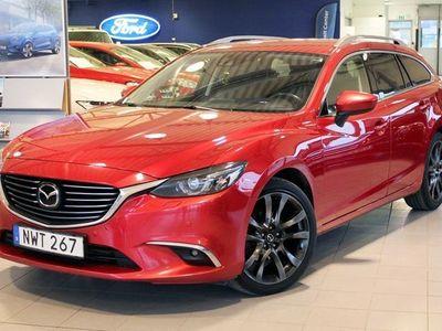 begagnad Mazda 6 2.2 175hk AWD Optimum Drag Vhjul