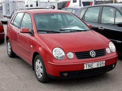 used VW Polo 1,4/75 ( Besiktigad Tom Dec)