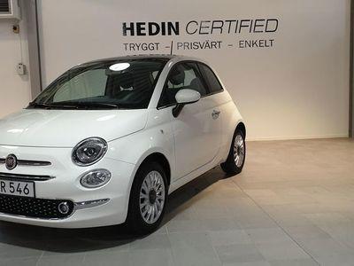 begagnad Fiat 500 1.2 69 HK PANORAMAGLASTAK