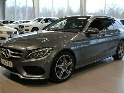 begagnad Mercedes 220 C Benz C 5. i tillbehörT d AMG 4MATIC 9G-Tronic 2018, Kombi Pris 313 500 kr
