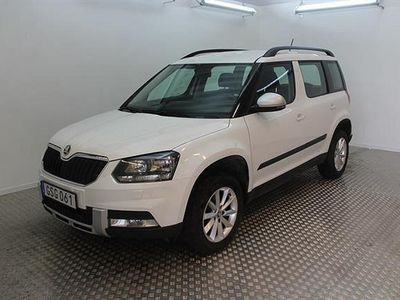 begagnad Skoda Yeti 2.0 TDI 4X4 Outdoor ambition 110hk -17