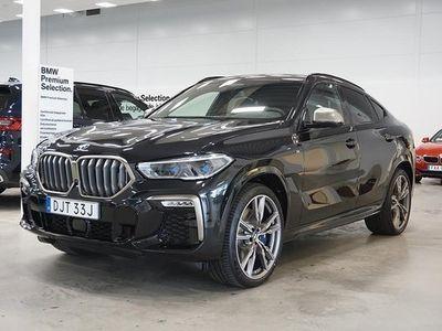 begagnad BMW X6 M50i Innovation Travel Värmare B&W Night Vision Lev Jan 2020, SUV 1 175 000 kr