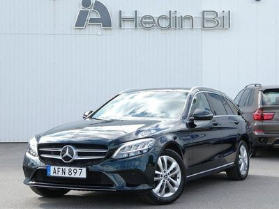 begagnad Mercedes C200 T 9G-Tronic DRAG LED-HIGH