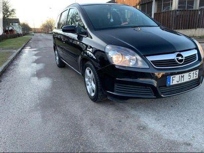 begagnad Opel Zafira 1.8 drag samt vålvårdad