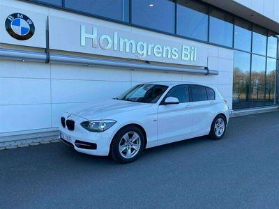 begagnad BMW 116 Sport Line 5dr 2012, Halvkombi Pris 109 900 kr