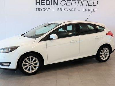 begagnad Ford Focus Titanium 1.0T Ecoboost 100hk