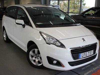 begagnad Peugeot 5008 Active 1,6 BlueHDi Aut 7-Sits - DRAGKROK 2016, SUV 158 800 kr