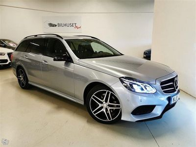 used Mercedes E220 AMG 4MATIC Värmare/Drag -16