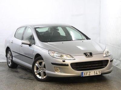 begagnad Peugeot 407 2.2 163hk