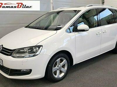 begagnad VW Sharan 2.0 TDI DSG Sekventiell, 140hk Premium