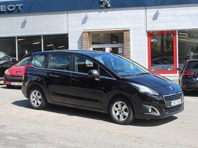 begagnad Peugeot 5008 1.6 BlueHDi Euro 6 7-sits 120hk kamera navi