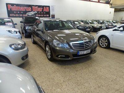 begagnad Mercedes E250 BlueEFFICIENCY 5G-Tronic 204hk