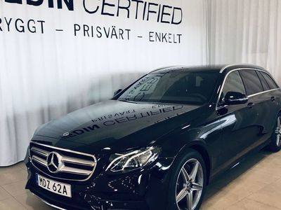 begagnad Mercedes E220 KOMBI AMG / DRAG