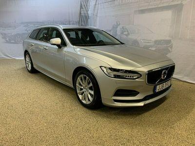begagnad Volvo V90 T4 Momentum SE, ader, On call, Parkeringskamera bak, Navigation, Smartphone Integration 2019, Kombi 279 500 kr