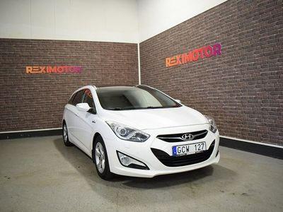begagnad Hyundai i40 cw 1.7 CRDi 136hk Ny Besiktad