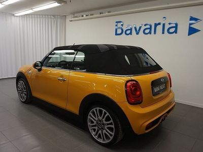 begagnad Mini Cooper Cabriolet S AT Jul 2016, Cab 275 000 kr