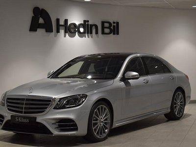 begagnad Mercedes S400 D 4MATIC SEDAN LÅNG / AM