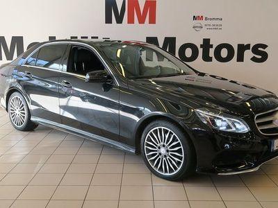 begagnad Mercedes 300 E sedanBlueTEC HYBRID AMG Sport, Exclusive bensin automat Svart