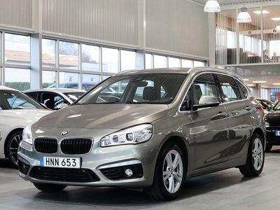 begagnad BMW 218 d Sport line Navi Keyless Backkamera Drag