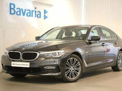 begagnad BMW 520 d xDrive Sedan Sport line Drag Backkamera Värmare