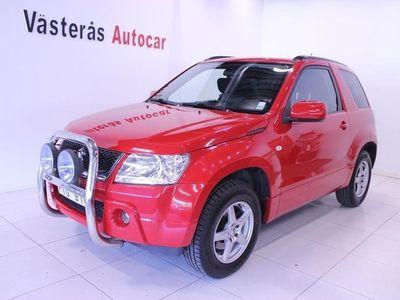 begagnad Suzuki Grand Vitara 3-dörrar Drag 1.6 VVT 4WD 106hk