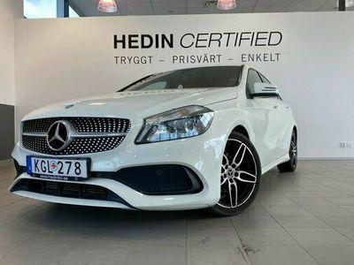 begagnad Mercedes 180 A Benz A A-KLASSSE Edition AMG Paket 2018, Halvkombi Pris 177 900 kr