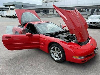 begagnad Corvette C5 3550 mil, en brukare, oskruvad originalbil